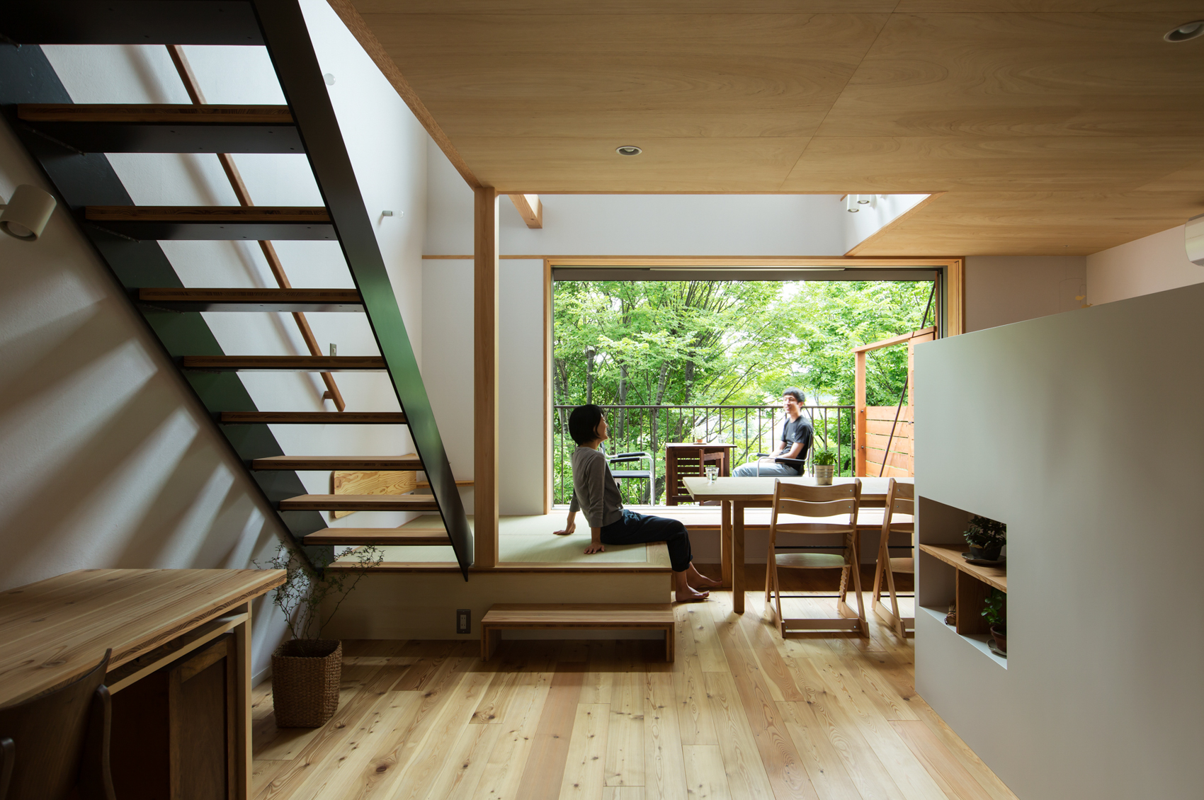 設計:藤森大作建築設計事務所 プロデュース、施工:IFA住宅設計室